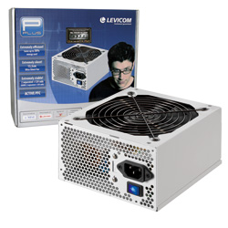 LEVICOM Polar Power 500W,active PFC,13,5cm fan, >80%účinnost